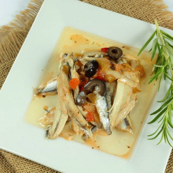 Anchovies Provencale