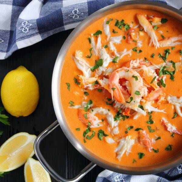 Hand Crafted Crab Bisque