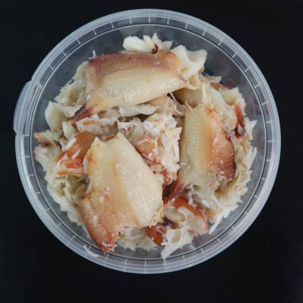 White Crab Meat Shellfish South West